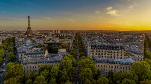 素材・フランス・パリ